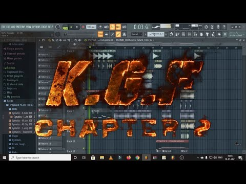 Download KGF 2 Trailer Music BGM  | KGF Free FLP | KGF Chapter 2  FL Studio | Breakdown