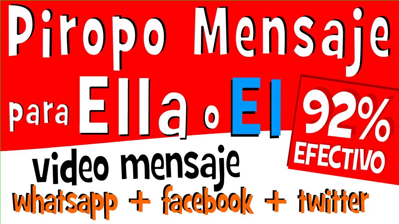 PIROPOS DE AMOR para Mujeres y Hombres para partir en Whatsapp
