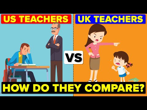 US Teachers vs UK Teachers - How Do They Compare? Hours & Salary Comparison