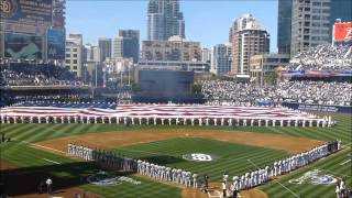 Home Opener 2013 at PETCO Park