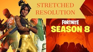 NEW HOW TO GET AS CLOSE TO STRETCHED RESOLUTION AS YOU POSSIBLY CAN IN FORTNITE *AFTER V8.30 UPDATE*
