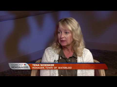 Comcast Newsmakers Preview: Manager Tena Woenker, Town of Waterloo (IN-2016)
