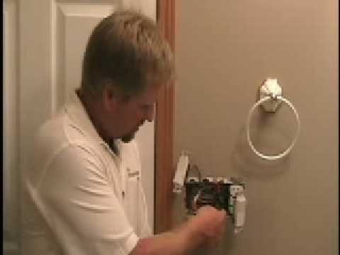 Wiring A Bath Fan Timer Switch Youtube