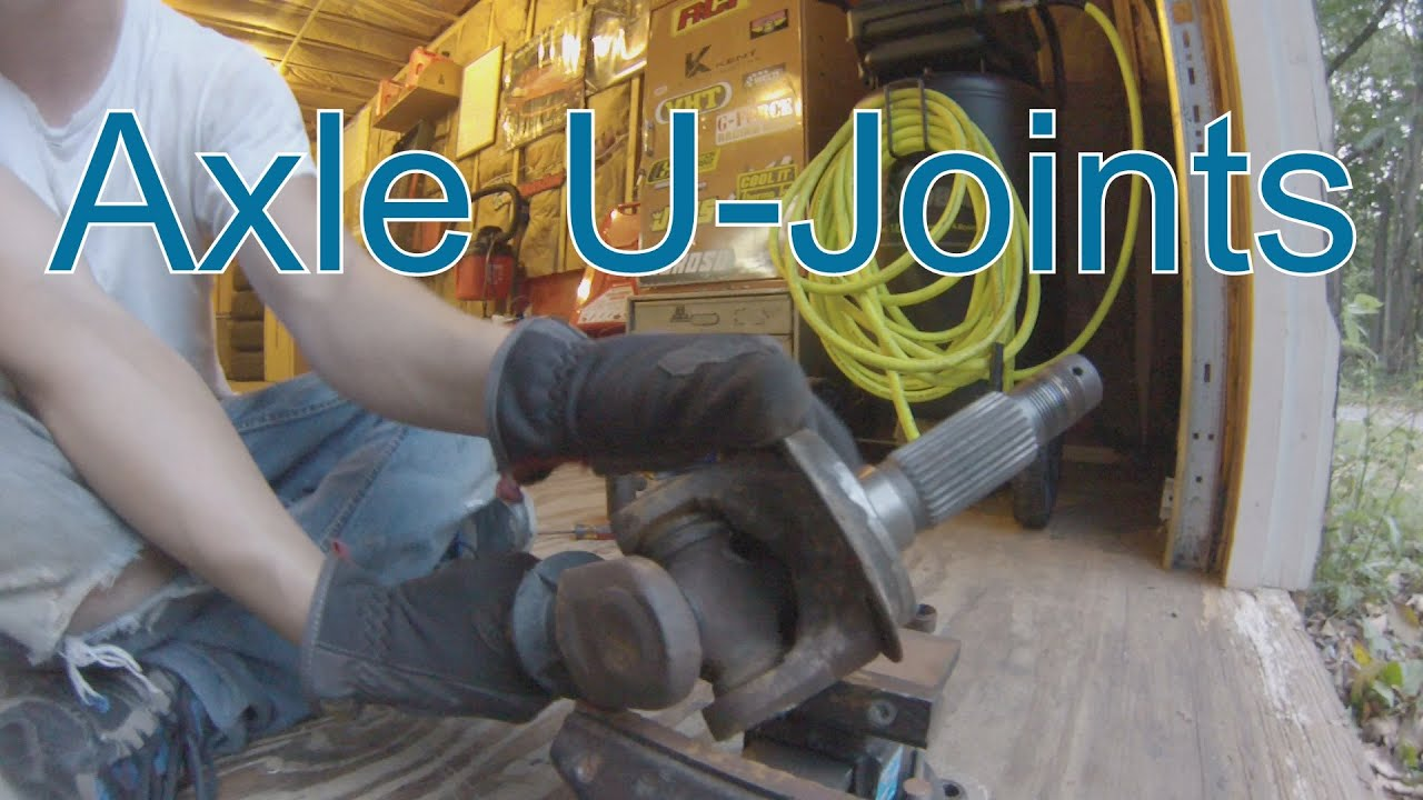 Project Tj Wrangler Ep 18 Axle U Joint Replacement Youtube 2005 Jeep Front Diagram