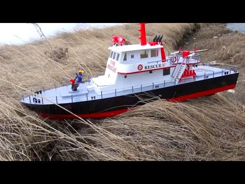 RC ADVENTURES - Tragedy on Open Water - Training Mission goes Wrong - Aquacraft Rescue 17