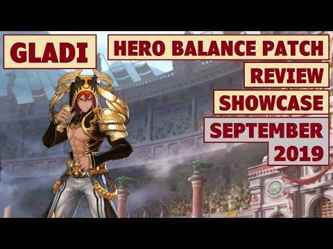 King's Raid - Gladi Balance Patch Review (September 2019) + Post Buff Performance Showcase