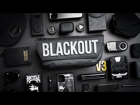 What's In My Pockets Ep. 28 – Blackout EDC V3 (Everyday Carry)