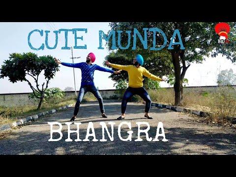 Cute Munda -(BHANGRA COVER) Sharry Mann (Lyrical Bhangra) | Parmish Verma | Lokdhun Punjabi |BWM