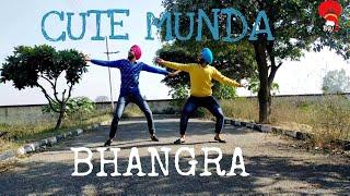 Cute Munda (BHANGRA COVER) Sharry Mann (Lyrical Bhangra) | Parmish Verma | Lokdhun Punjabi |BWM