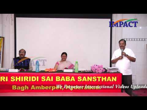 Stress is Bliss by Dr B V Pattabhiram at WeFoundation Hyderabad