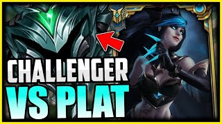 CHALLENGER EVELYNN SHOWS YOU HOW TO 1v5 PLATINUM | HOW TO CARRY LOW ELO - League of Legends