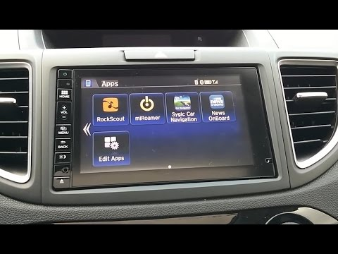 Android Apps On Your Hondalink Radio Display Connect