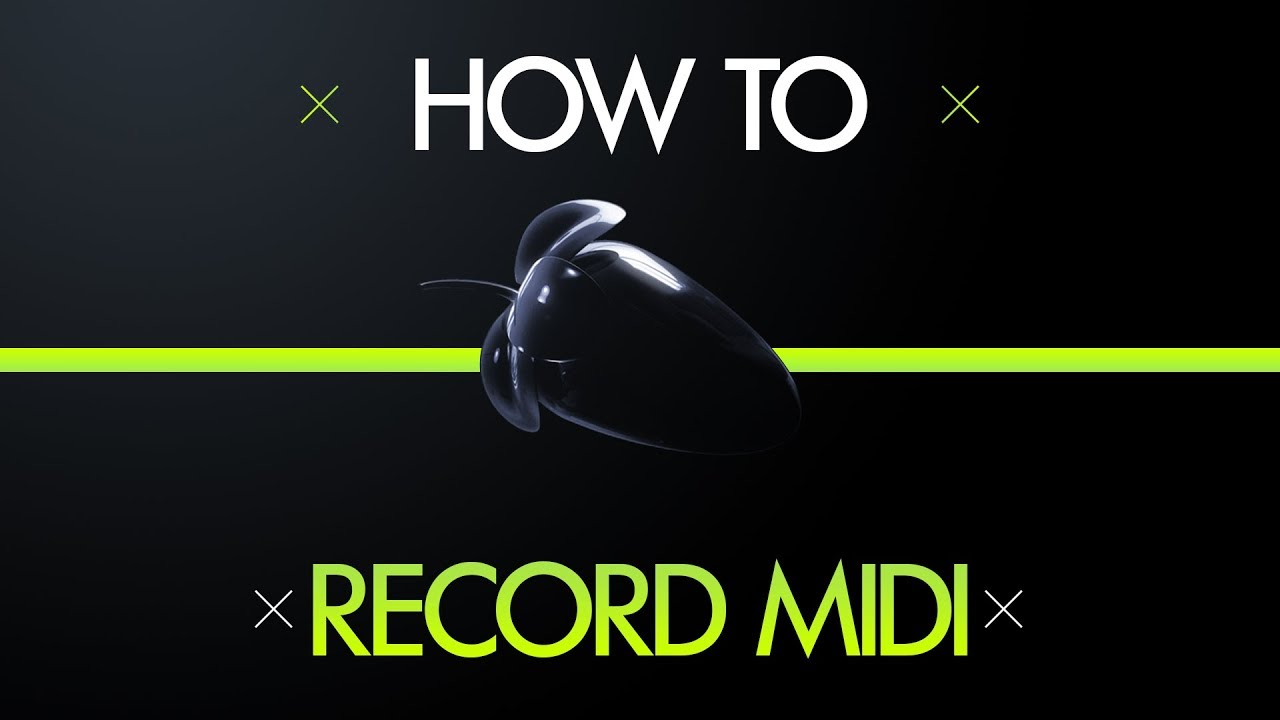 how to record your midi keyboard in fl studio youtube. Black Bedroom Furniture Sets. Home Design Ideas