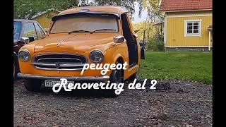 Peugeot diesel äkta EPA projekt! Del 2