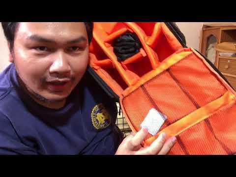 รีวิวกระเป๋ากล้อง DSLR จาก Lazada (เป้สะพายหลัง)