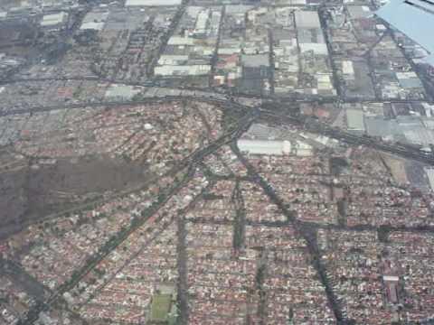 Flug über Mexico-City 5