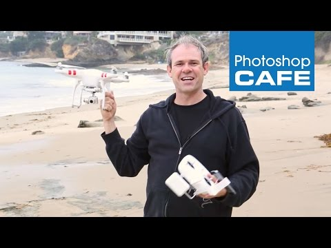 How to fly and shoot with the DJI Phantom 2 Vision + Quadcopter drone on Location