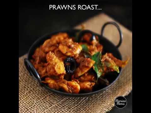 Prawns Roast Recipe By MariasMenu