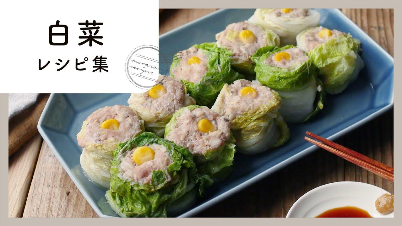 白菜 消費 レシピ