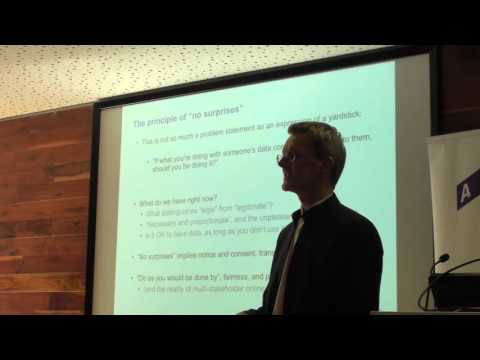 Robin Wilton's Talk: 'Data ethics: it's murder out there…'