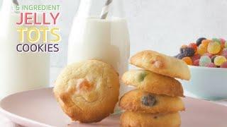 5 Ingredient Jelly Tots Cookies