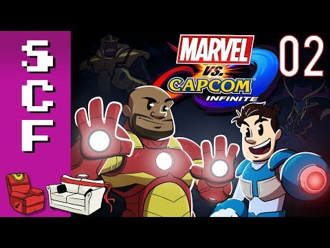 Marvel vs. Capcom: Infinite (Story Mode) - Part 2! Super Couch Fighters: Arcade Mode!