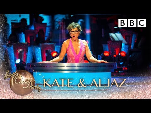 Kate Silverton & Aljaz Skorjanec dance the Cha Cha to Kiss by Tom Jones - BBC Strictly 2018