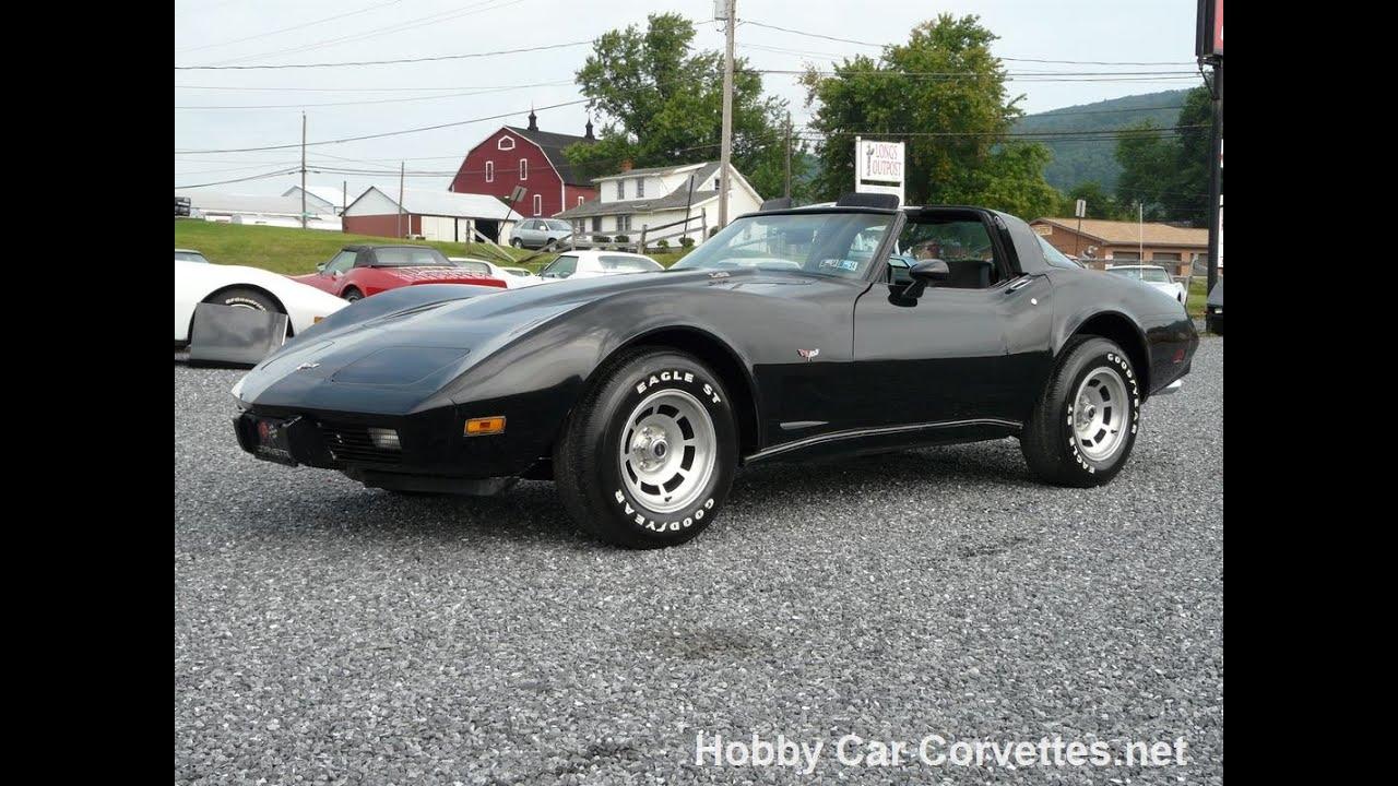 Worksheet. 1979 Black Black Corvette L82 Automatic  YouTube