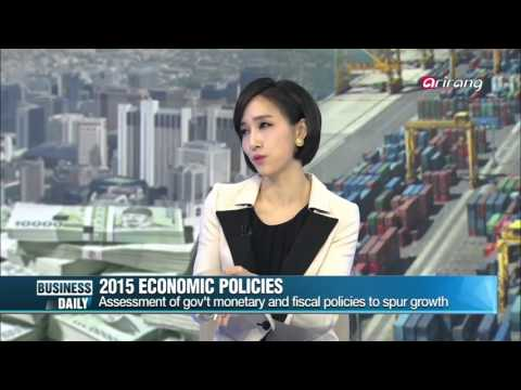 Business Daily _ Korean economy in 2015: government policy