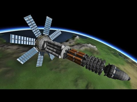 Kerbal Space Program (KSP). Penetrator. Epic crash. |
