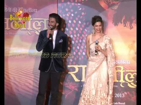 Deepika Padukone & Ranveer Singh at trailer launch of 'Ram Leela' 1 Travel Video