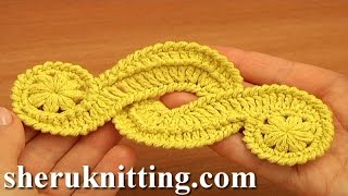 Crochet Freeform Motif Tutorial 16 Irish/guipure Crochet Motif Free Pattern