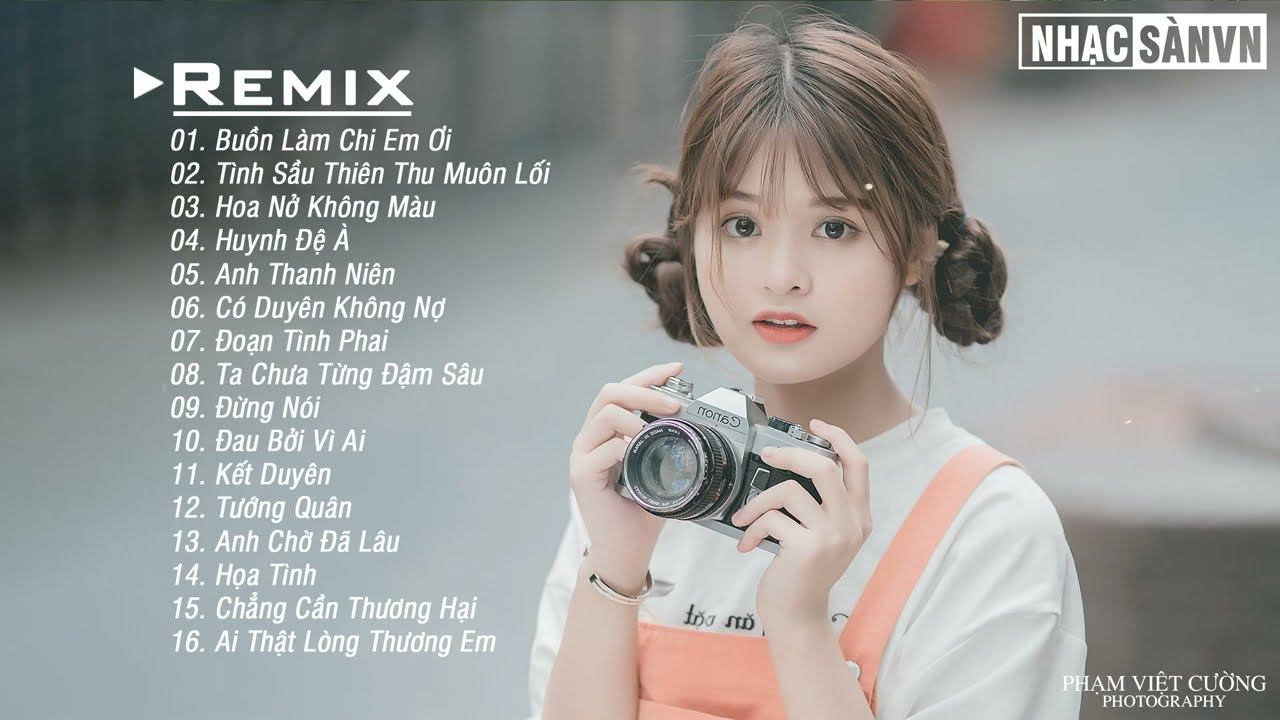 Buồn Làm Chi Em Ơi Remix 💋 Tình Sầu Thiên Thu Muôn Lối Remix 💋Anh Thanh Niên EDM WRC Remix Nhẹ Nhàng