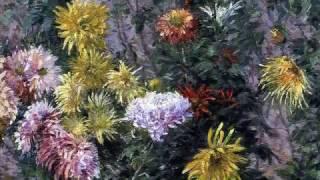Gustave Caillebotte - Jardines y flores  (Impresionismo)