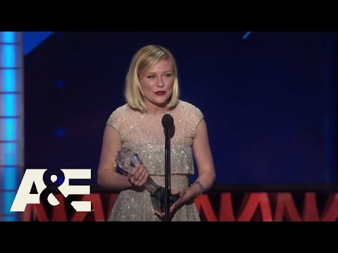 Kirsten Dunst Wins Best Actress in a Limited Series  2016 Critics' Choice Awards  A&E