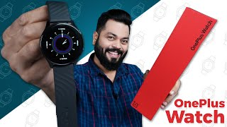 OnePlus 시계 개봉 및 첫인상 ⚡ 1.39 형 AMOLED, 14 일 배터리, SpO2 등
