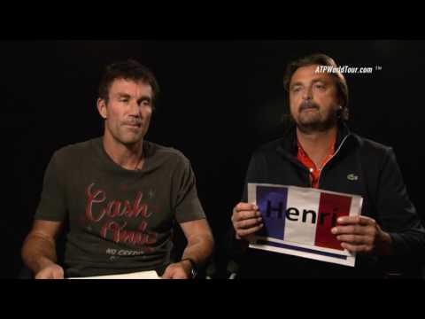 Tennis Legends Cash And Leconte Compare Careers