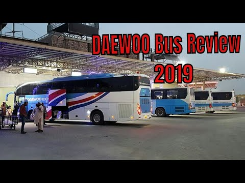 Daewoo new bus review - Reaction 4 you 2019