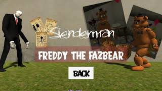 Slenderman Vs Freddy The Fazbear Walkthrough