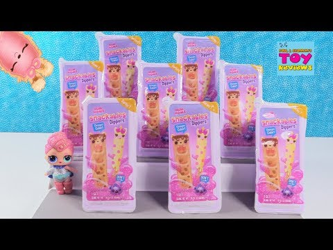 Snackables Dippers Num Noms Series 1 Slime Blind Bag Toy Review | PSToyReviews