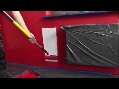 Покраска стен краской Sniezka Nature - учебный фильм
