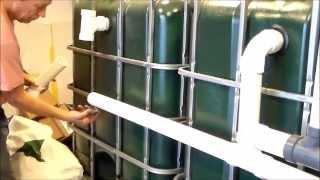 aquaponics fish tank tips on setup and connecting
