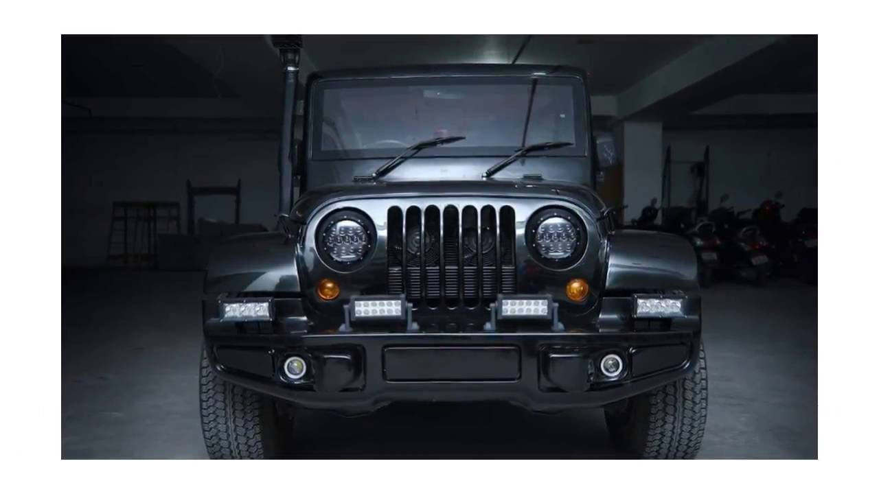 Mahindra Thar New Looking Interior Amp Exterior Youtube