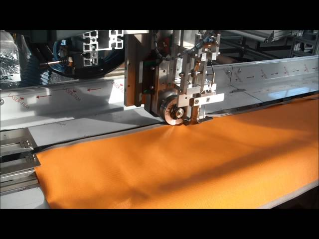 SM-210-SA / SM-216-SA Zipper welding