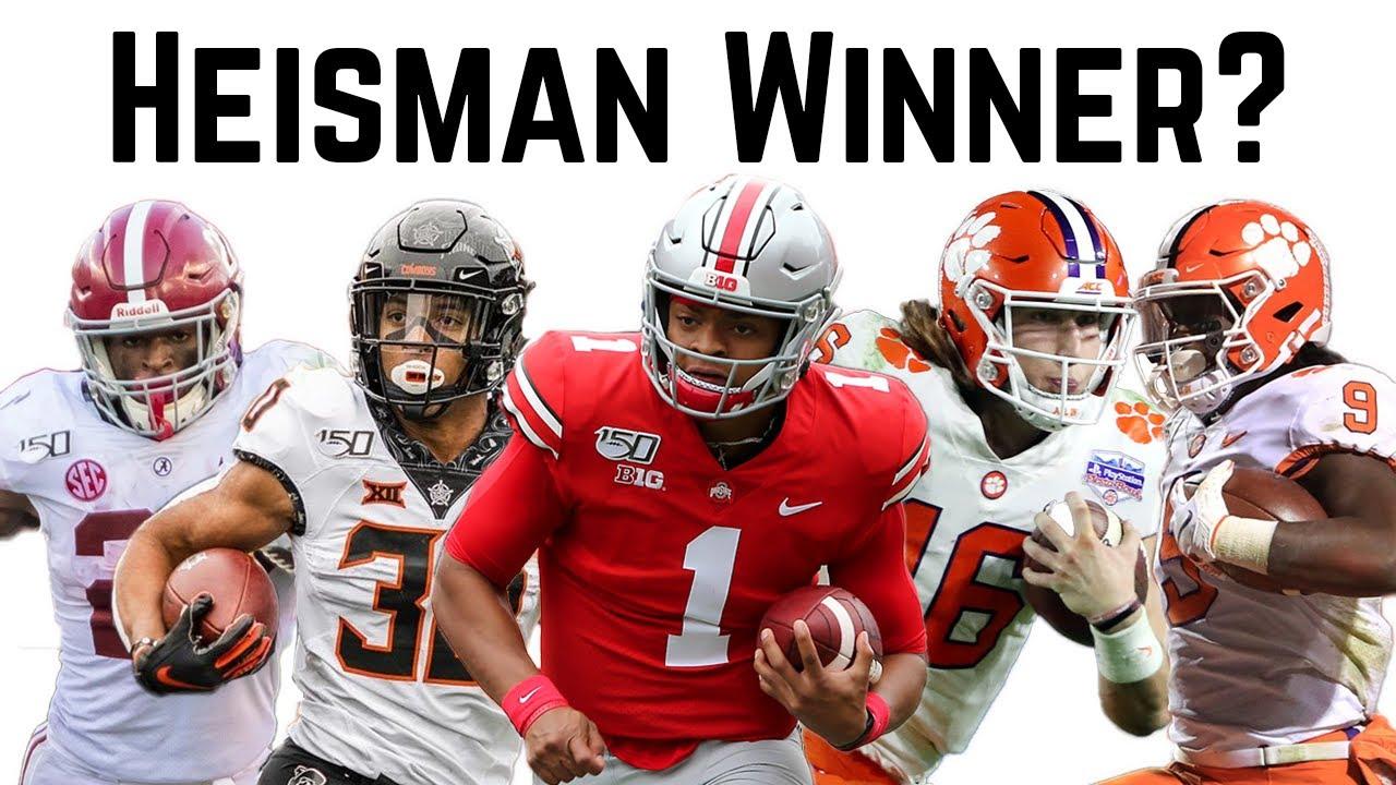 Heisman Predictions For The 2020 College Football Season