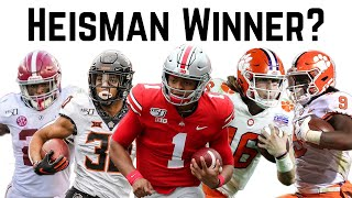 Heisman predictions for the 2020 college football season