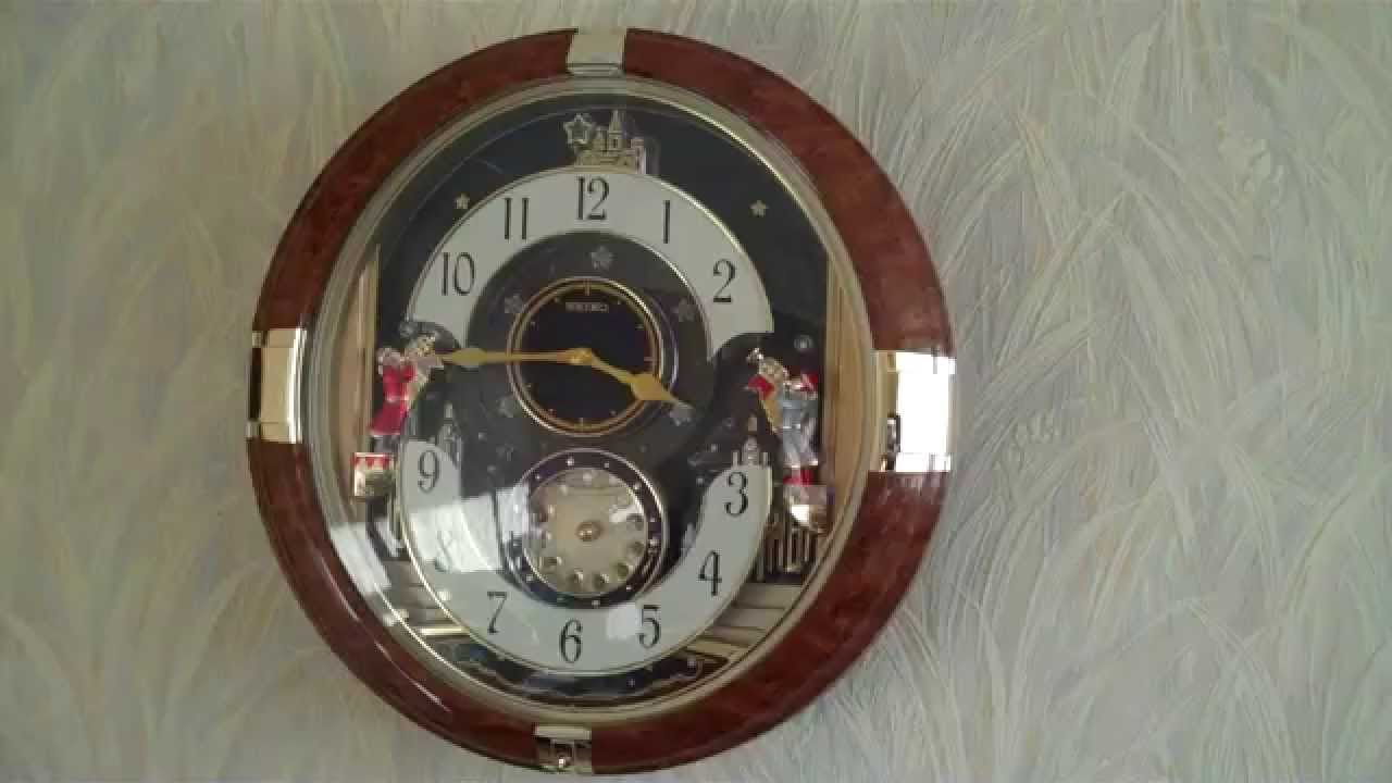 Seiko melody in motion clock qxm228 with 6 hi fi melodies youtube seiko melody in motion clock qxm228 with 6 hi fi melodies amipublicfo Images