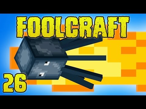 FoolCraft Modded Minecraft 26 Flaming Squids!