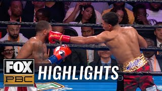 David Benavidez beats Anthony Dirrell after Dirrell suffers brutal cut | HIGHLIGHTS | PBC ON FOX