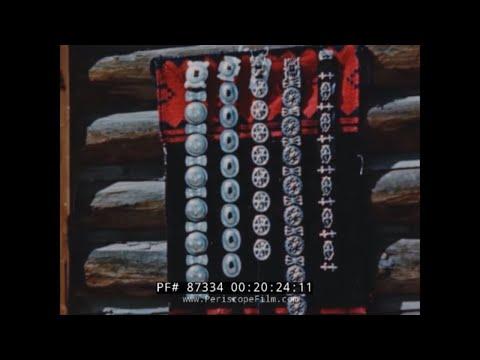 NAVAJO & PUEBLO INDIANS ARTS & CRAFTS  1940s DOCUMENTARY FILM  NATIVE AMERICANS  SILVERSMITH 87334